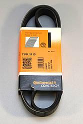 Ручейковий ремінь на Renault Trafic 2006-> 2,5 dCi (146л.с. - AC) — Contitech (Німеччина) - 7PK1113