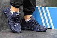 Мужские кроссовки Adidas Traxionfastr темно синие 3052