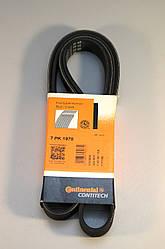 Поліклинові (ручейковий) ремінь на Renault Trafic 2006-> 2.0 dCi (+AC) — ContiTech (Німеччина) - 7PK1970