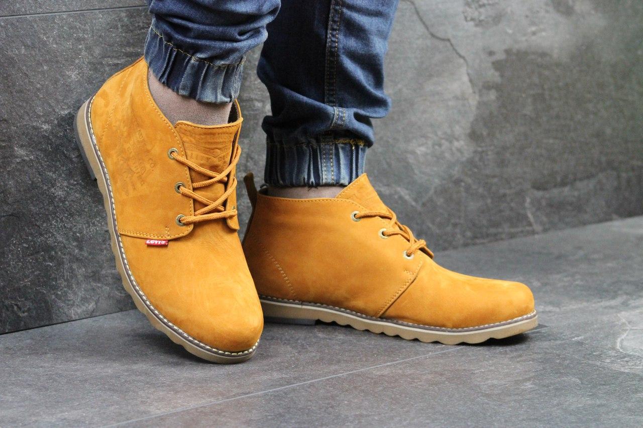 f5df9742 Я в шоке!™ | Мужские зимние ботинки Levi's рыжие 3425. Цена, купить ...