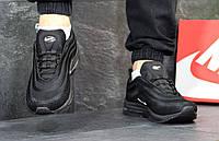 Мужские кроссовки Nike Air Max 97 черно-беллые 3837