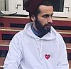 CDG Play худи белая • Нашивка • Бирка Comme des Garçons • Реальные фотки, фото 2