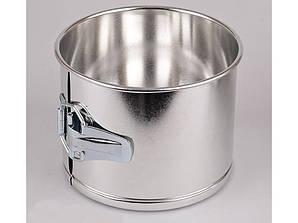 Форма для пасхи металлическая разъемная 15х11 см.