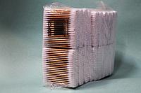Гигиенические ватные палочки на деревянной основе упаковка 20 пачек (2000 шт)