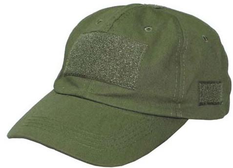 Кепка, бейсболка с липучками MFH тёмно-зелёный 10263B