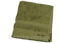 Полотенце 100% хлопок 110х50 см MilTec Olive 16011001