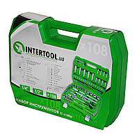 Набор инструментов 108 ед. INTERTOOL ET-6108SP