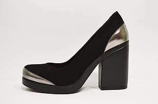 Туфли женские замшевые Guero 1172, фото 3