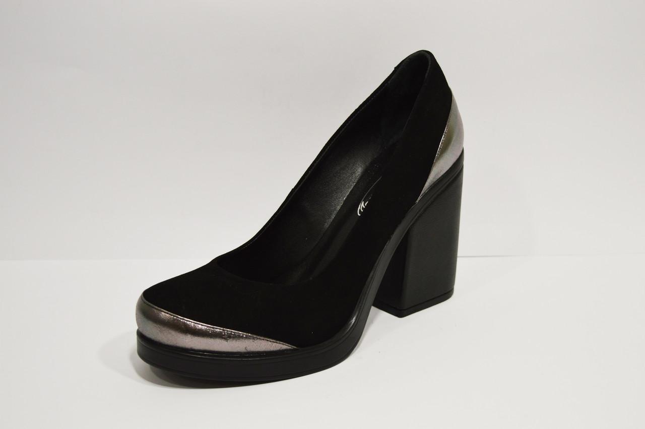 Туфли женские замшевые Guero 1172