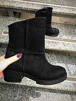 Ботинки с отделкой сырым швом , фото 1