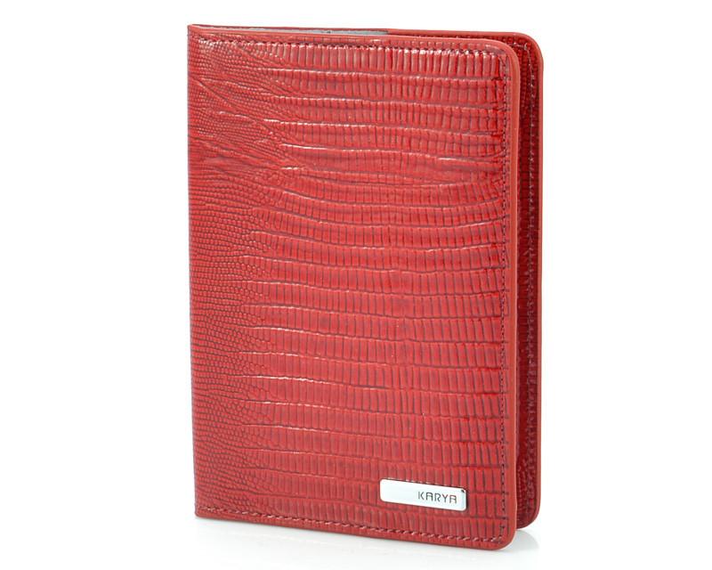 Шкіряна обкладинка для паспорта Karya 093-074 (Туреччина)
