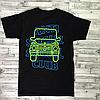Anti Social Social Club футболка. Принт Gelandewagen. Бирка ASSC