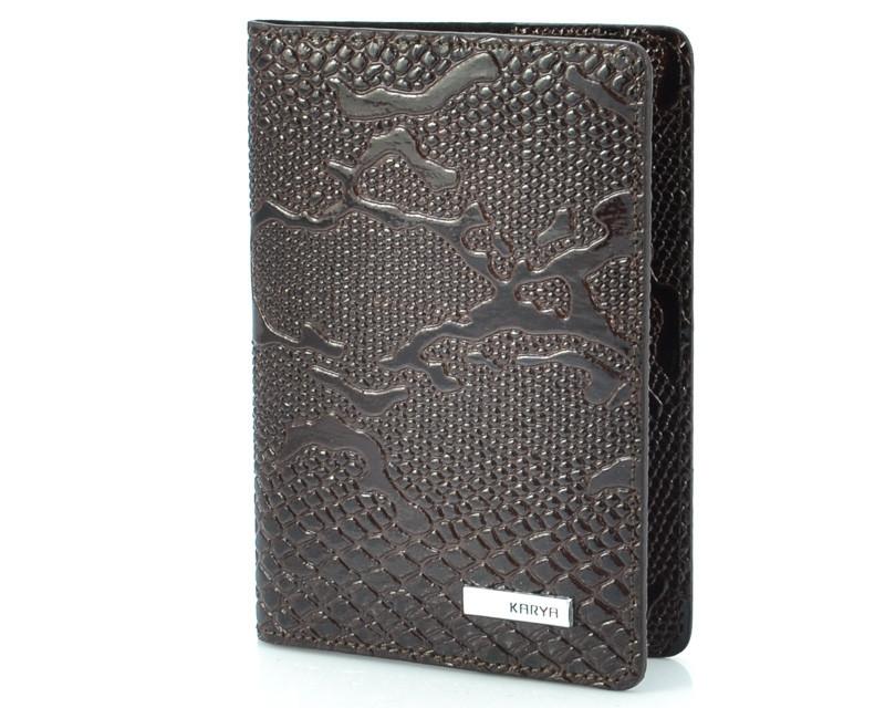 Шкіряна обкладинка для паспорта Karya 093-015 (Туреччина)