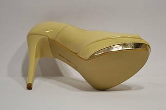 Туфли женские бежевые Bravo Moda, фото 2