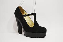 Женские замшевые туфли Pepol 39 размер