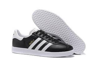 Кроссовки Adidas Gazelle Vintage Leather Black