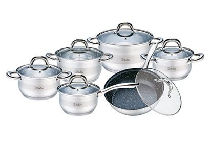 Набор посуды 12 предметов Bollire (BR-4004)