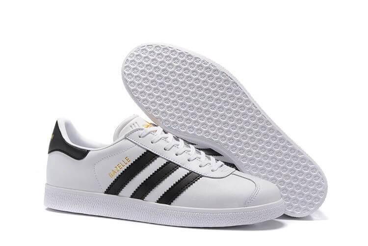 Кроссовки Adidas Gazelle Vintage Leather White