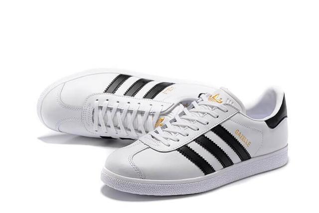 Adidas Gazelle Vintage Leather White
