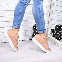 Кроссовки криперы PR пудра , женская обувь