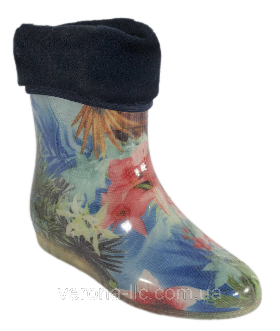ed0589503 Сапоги резиновые женские силиконовые с мехом - Производство обуви
