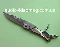"""Складной выкидной нож """"1868"""" с штопором и открывалкой"""