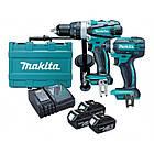 Набор инструментов Makita DLX 2145 X1 (DDF458 + DTD152)