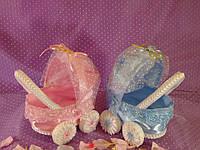 Коляски для свадебного конкурса мальчик/девочка