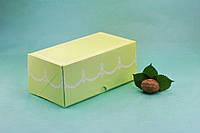 Коробка 200*110*85 для капкейков (2 шт), салатовая