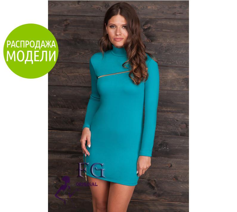 """Платье с длинным рукавом """"Glamour"""". Распродажа модели"""