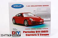 Welly.Сборная модель машинка металл 1:24 Porsche