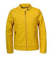 Куртки кожзам для девочек оптом, Glo-story, 134/140-170 рр., арт. GPY-5818, фото 1