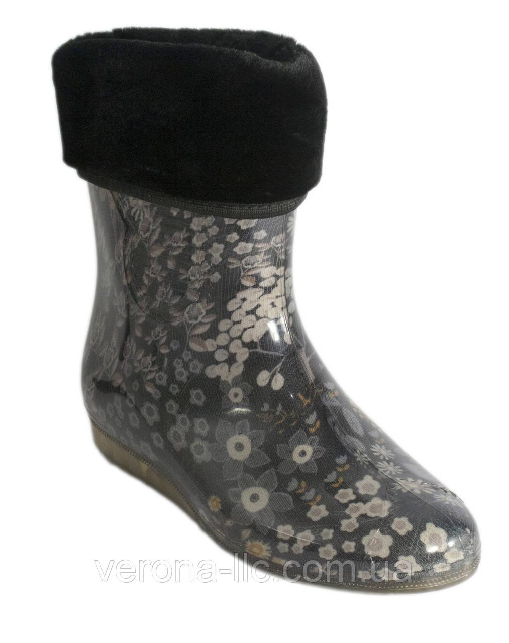 da380e811 Сапоги резиновые женские силиконовые с мехом - Производство обуви
