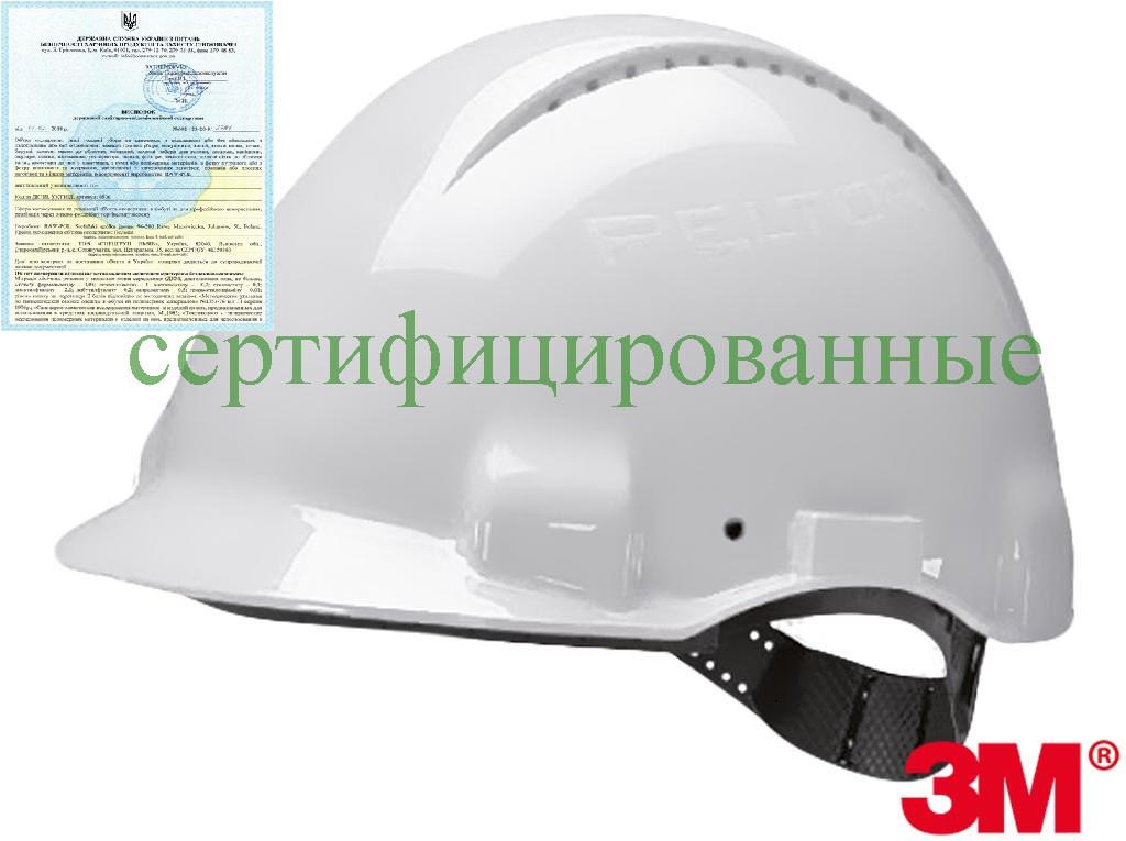 Каска строительная защитная 3M-KAS-SOLARIS W