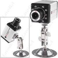 Камера видеонаблюдения с ЗАПИСЬЮ ИК подсветка