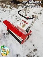 Бензиновый снегоочиститель, снегоуборщик TORO бу из Германии, техника для уборки снега