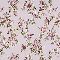 Ткань Ионика, розовый цветок