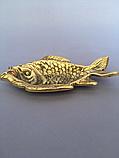 """Пепельница """"Рыбка"""" из бронзы, фото 2"""