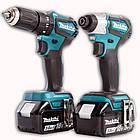 Набор инструментов Makita DLX2220 (DDF 483 + DTD 155)