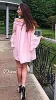Новиночка невероятно красивое платье  размер универсал ткань летняя костюмка(21198)