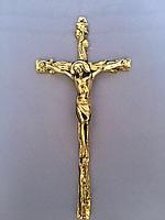 Крест настенный из бронзы