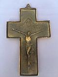 Крестик настенный из бронзы, фото 2