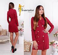 Платье -пиджак  С и М (21015)