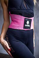 Пояс женский для фитнеса Babalu из материала Supplex, розовый