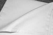 Скатерть 1,30*1,80 Белая из ткани Н-245 на стол 0,70*1,20 Прямоугольная Плотная, фото 2