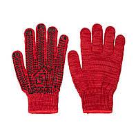 Перчатки хозяйственные универсальные красные