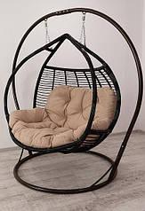 Подвесное кресло  Кокон Полосатый Галант