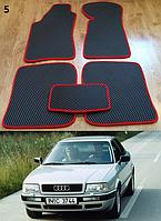 Коврики на Audi 80 (B3, B4) '86-96. Автоковрики EVA, фото 1