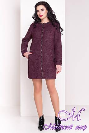 Стильное весеннее пальто из шерсти (р. S, M, L) арт. Анси 3429 - 17501, фото 2