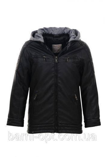 Куртка кожзам на мальчика оптом, Glo-story, 134/140-170 рр